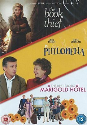 The Book Thief / Philomena / The Best Exotic Marigold Hotel 3 DVD