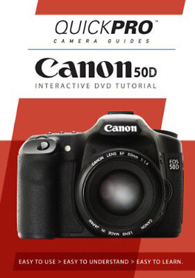 Canon 50d Dvd (NEW Canon 50D DSLR QuickPro DVD Guide Video Tutorial Lesson, Easy to)