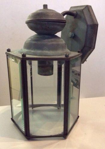vintage outdoor light fixture ebay