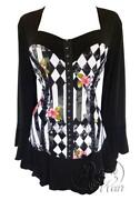 Plus Size Gothic Tops
