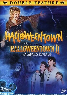 Halloweentown Double Feature (DVD Used Very Good) (Halloween Town Dvd)