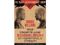 Robbie Williams x 2 Standing Tickets