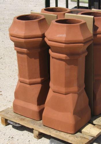 Decorative Clay Pipe : Chimney pot architectural garden ebay