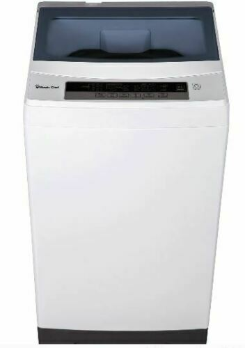 Portable Compact White Wash Machine Washing&Spin Cycle 1.6 c