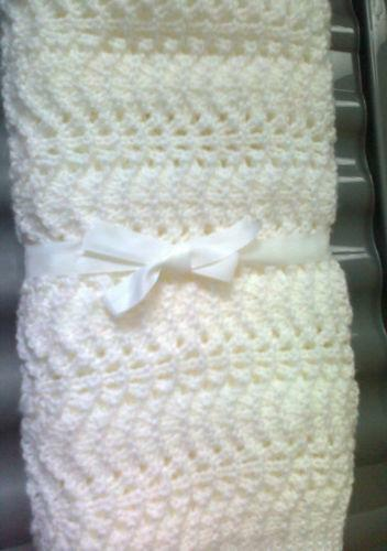 Hand Knitted Cot Blankets Ebay