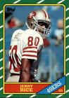 Jerry Rice Rookie Football Cards