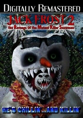 Jack Frost 2: Revenge of the Mutant Killer Snowman [New DVD] Manufactured On D, used for sale  USA