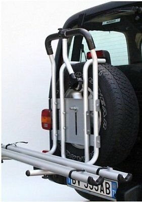 Portabicicletas Todoterreno 4X4 Universal en Aluminio 2 Bicicleta + 1 Brazo All