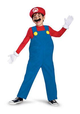 Boys Super Mario Deluxe Halloween Costume
