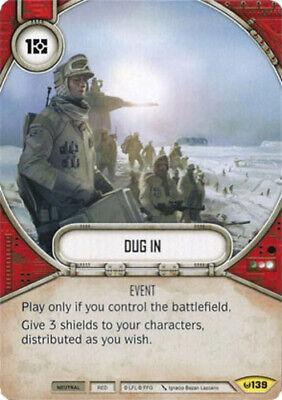 X1 Dug In 139 Uncommon Star Wars Destiny Awakenings M/NM - $2.25