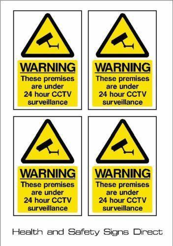 Warning All Sizes /& Materials MISC3 Security CCTV Sign Sticker Camera