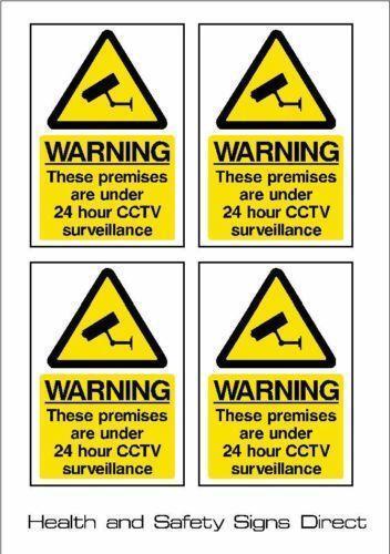 Cctv Sign Ebay