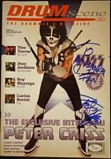 Peter Criss Signed