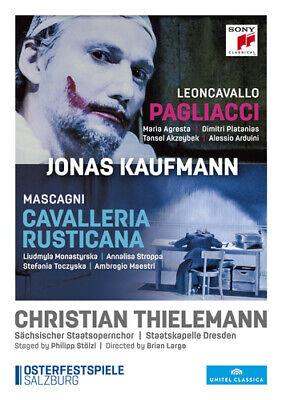 Jonas Kaufmann: Cavalleria Rusticana/Pagliacci DVD (2016) Philipp Stölzl cert E