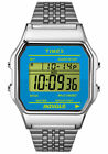 Timex Stainless Steel Band Digital Unisex Watches