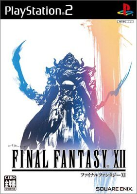 Ending Fantasy XII with Bonus FFXII iTunes Index card (2006) Brand New Japan PS2 Intimation