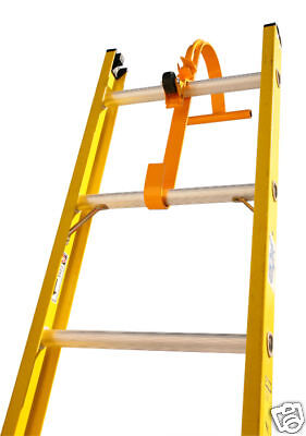 New Steel Ladder Roof Hook With Wheel - Roof Equipment Extension Ladder