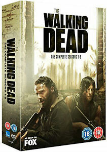 THE WALKING DEAD Complete Season Series 1 2 3 4 5 1-5 Collection Boxset NEW DVD