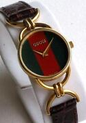 Gucci Watch Green Red