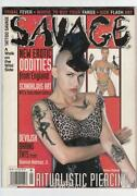 Savage Tattoo Magazine
