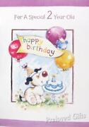 2 Year Old Birthday Card