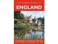 50 BOOKS -JOB LOT - The Hidden Places of England (Hidden Places Travel Guides)