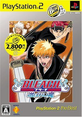 BLEACH Chosen soul PlayStation 2 the (Best 2 Person Games)