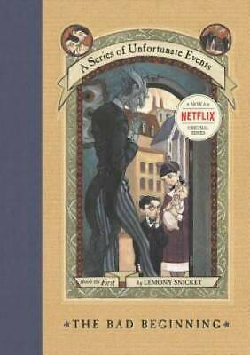 The Bad Beginning (A Series of Unfortunate Events #1) - Hardcover - GOOD