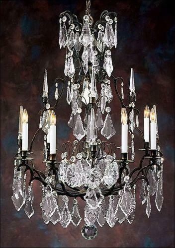 Antique French Crystal Chandelier Ebay