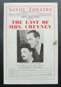 London Theatre Programmes