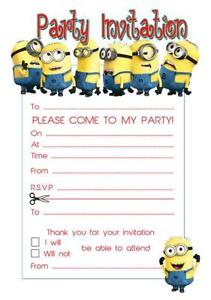 birthday invitations party invites ebay