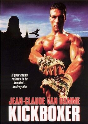 KICKBOXER New Sealed DVD Fullscreen Jean-Claude Van Damme