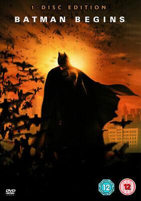 Batman Begins DVD (2006) NEW SEALED Christian Bale