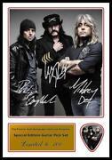 Motorhead Signed