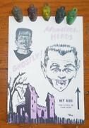 Vintage Monster Cards