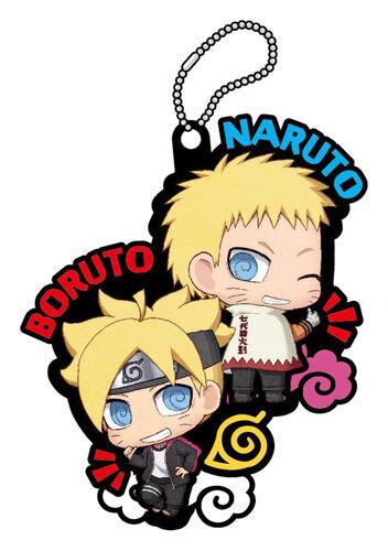 Boruto Naruto and Boruto We Have Grown!! Buddy Collection PVC Key Chain
