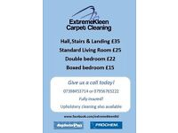 **EXTREMEKLEEN CARPET CLEANING LTD OFFER CARPET & UPHOLSTERY CLEANING AT AFFORDABLE PRICES