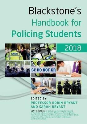 Blackstone's Handbook for Policing Students 2018, Hooper, Graham, Jones, Nigel,