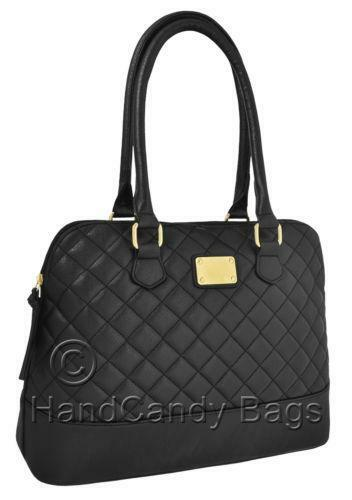 Black Quilted Bag Women S Handbags Ebay