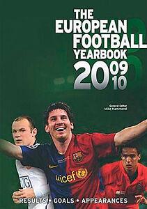 The European Football Yearbook 2009/2010 - UEFA Soccer Statistics book