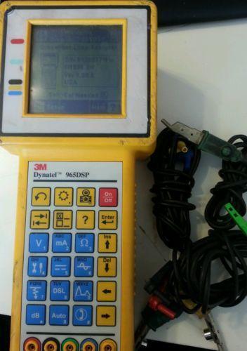 Dynatel Cable Fault Locator : M dynatel datacom telecom measurement ebay