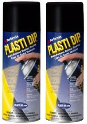Plasti Dip Mulit-purpose Rubber Coating Spray Black 11oz 2 Pack