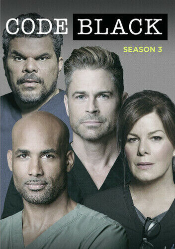 Code Black: Season 3 [new Dvd] 3 Pack, Ac-3/dolby Digital, Dolby