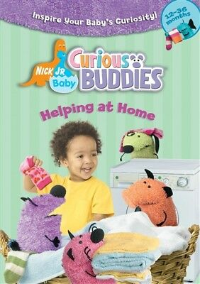 Baby Nick Jr (NICK JR BABY CURIOUS BUDDIES HELPING AT HOME New Sealed DVD)
