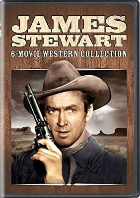 James Stewart: 6-movie Western Collection [New DVD] 3 Pack