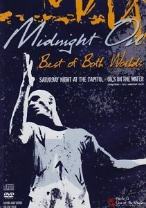 MIDNIGHT OIL BEST OF BOTH WORLDS DVD ALL REGIONS PAL & CD NEW