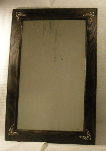 Antique Wood Mirror Ebay