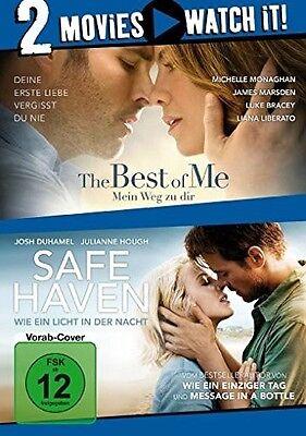 THE BEST OF ME-MEIN WEG ZU DIR/SAFE HAVEN 2 DVD NEU