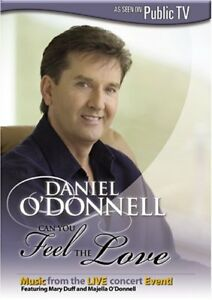 Daniel O' Donnell-Can You Feel The Love-Live Concert dvd + bonus