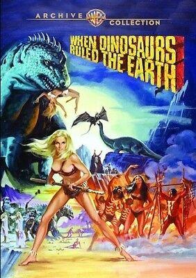 When Dinosaurs Ruled the Earth [New DVD] Manufactured On Demand, Full Frame, - Dinosaur Frame